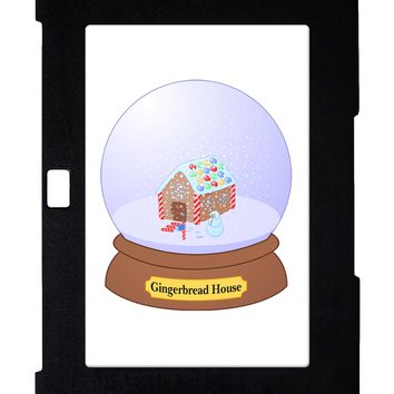 Little Gingerbread House Snow Globe Galaxy Note 10.1 Case  by TooLoud
