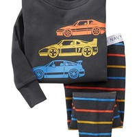 Old Navy Car Graphic Sleep Sets For Baby