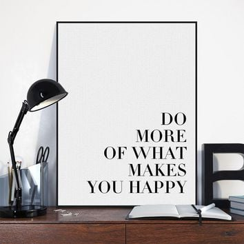 Minimalist Black White Motivational Typography Quotes A4 Art Print Poster Wall Picture Living Room Canvas Painting Deco No Frame
