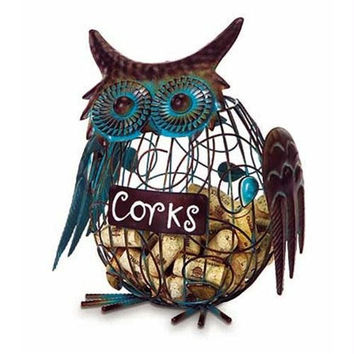 Wine Cork Caddy Holder - Owl