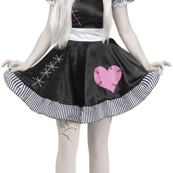 Broken Doll Adult awesome Halloween costume for teens women