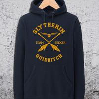 Slytherin Quidditch Hoodie Harry Potter Unisex Hoodies