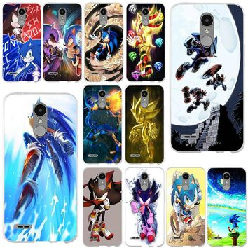 Hot Sonic Tails Hedgehog For LG Spirit G2 G3 Mini G4 G5 G6 K4 K7 K8 K10 V10 V20 V30 Shell Soft Silicone TPU Mobile Phone Cases