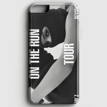 JayZ And Beyonce On The Run Tour iPhone 6 Plus/6S Plus Case