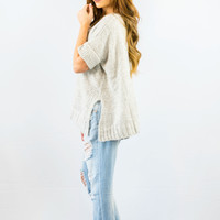 Cecico Lazy Grey Sweater