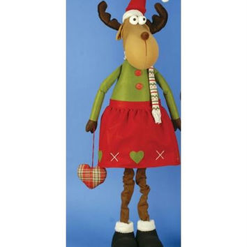 Christmas Figure - Mrs. Moose