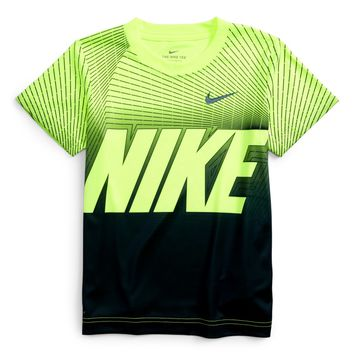 Nike Dry Staggered Line Block T-Shirt (Toddler Boys & Little Boys) | Nordstrom