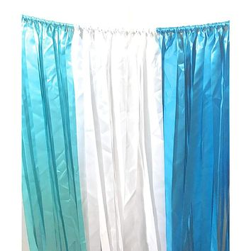 Ribbon Curtain Photo Booth Backdrops