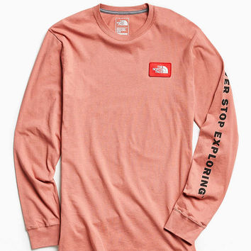 The North Face Patch Long Sleeve Tee - Urban Outfitters
