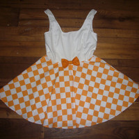Tennessee Vols Game Day Dress by DesiraeDanielle on Etsy