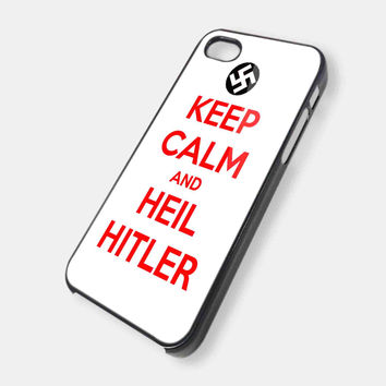 KEEP CALM AND HEIL HITLER iPhone Case Galaxy Case iPad Case HTC Case