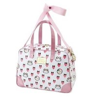 Hello Kitty Strawberry Boston Bag Handbag Shoulder Travel Purse from Japan D1129