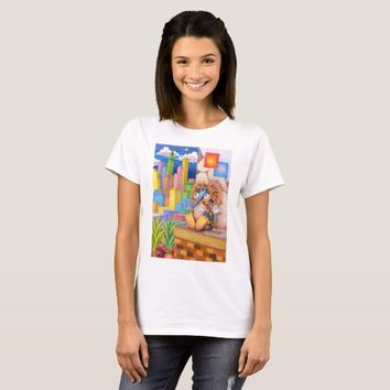 Fairy living in downtown T-Shirt