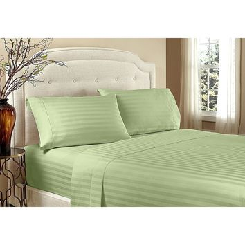 Home Sweet Home 1800 Series Egyptian Comfort Embossed Sheet Set