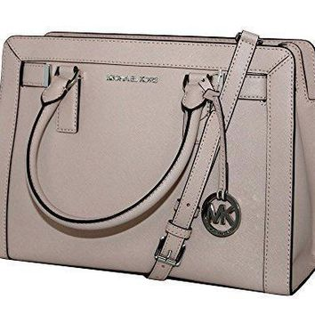 MICHAEL Michael Kors Women's Dillon Shoulder Bag Medium Leather Satchel Handbag