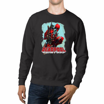 Deadpool Pointing Gun Unisex Sweaters - 54R Sweater