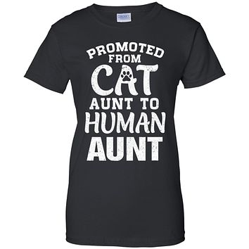 Promoted From Cat Aunt To Human Aunt Gifts