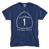 California National Parks Highway 1 T-Shirt