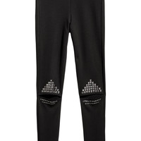 H&M Cut-out Leggings with Studs $24.99