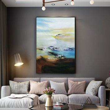 Modern Abstract acrylic paintings on canvas art original pictures texture extra Large wall art painting for living room cuadros abstractos