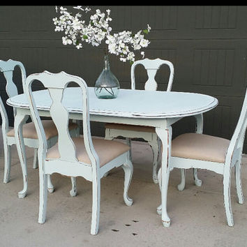 Shop Distressed Dining Chairs on Wanelo