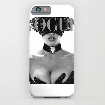Fashion Photography VOGUE Paris Fashion Print More Issues Than Vogue Fashionista Fashion Wall Art  iPhone & iPod Case by PrintableLifeStyle