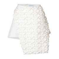 J.W. Anderson - Mini-Skirt with Draped Bow Panel
