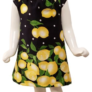 Lemon Drop A-Line Dress