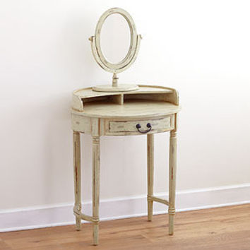 Christa Vanity Table With Mirror From Cost Plus World Market