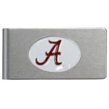 NCAA Team Brushed Metal Money Clip