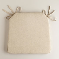Natural Bistro Chair Cushion - World Market