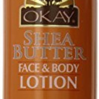 Okay Face and Body Lotion, Shea Butter, 16 Ounce
