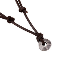 Gift Jewelry Shiny New Arrival Stylish Leather Men Alloy Vintage Accessory Necklace [6526582339]