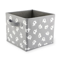 Koala Baby Canvas Bin - Gray Elephant