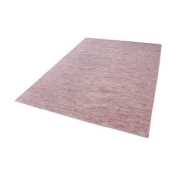 8905-013 Alena Handmade Cotton Rug In Marsala And White - 8ft x 10ft