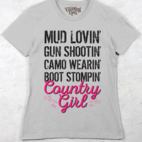 Women's Country Girl® Mud Lovin Tee