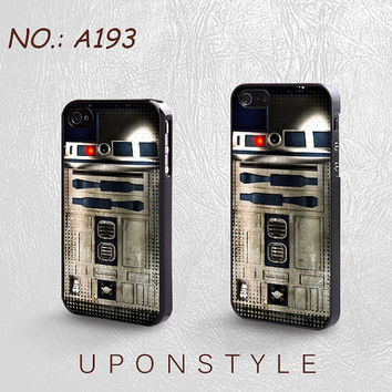 Phone Cases, iPhone 5 Case, iPhone 5s Case, iPhone 4 Case, iPhone 4s case, Star Wars R2 D2, iPhone case, Case for iphone, Case No-193