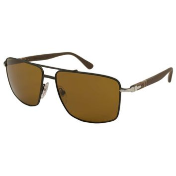 Persol Men's PO2430 Aviator Sunglasses | Overstock.com Shopping - The Best Deals on Designer Sunglasses