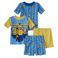 Despicable Me ''Team Minion'' Pajama Set - Toddler Boy, Size: