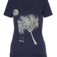 Moon Play Eco T-Shirt: Soul-Flower Online Store