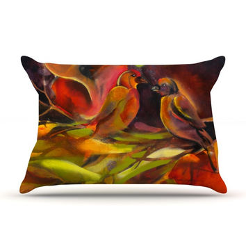 "Kristin Humphrey ""Mirrored in Nature"" Pillow Sham"