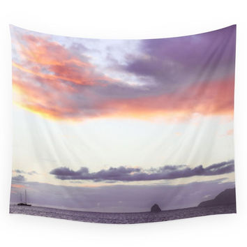 Society6 Sunset Wall Tapestry