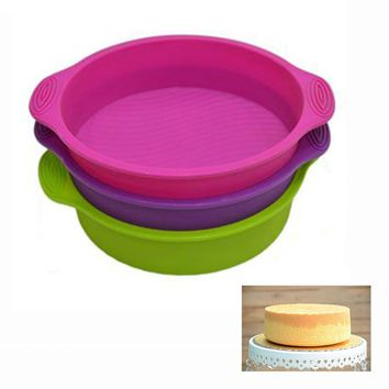 Silicone Round Shape Cake Mould  Pan