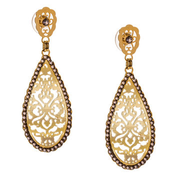 Filigree Elements Earrings by LK Designs