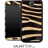 Real Zebra Skin for the Samsung Galaxy S4, S3, S2, Galaxy Note 1 or 2