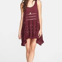 Women's Free People Lace Trim Trapeze Slipdress