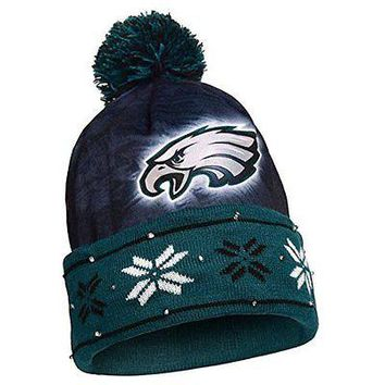 NFL Philadelphia Eagles Light Up Knit Hat