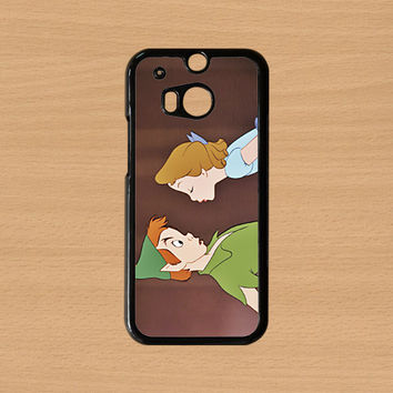 Htc One S case,Htc One X case,Htc One M7 case,Htc One case,Htc One M8 case,iphone 5c case,iphone 5s case,iphone 5 case--peter pan and wendy.