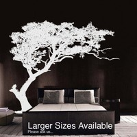 Vinyl Wall Decal Sticker TREE Shade Design BIG 6ft Tall | stickerbrand - Housewares on ArtFire