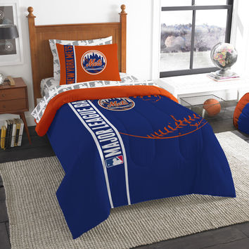 Mets  Soft and Cozy Twin Comforter Set